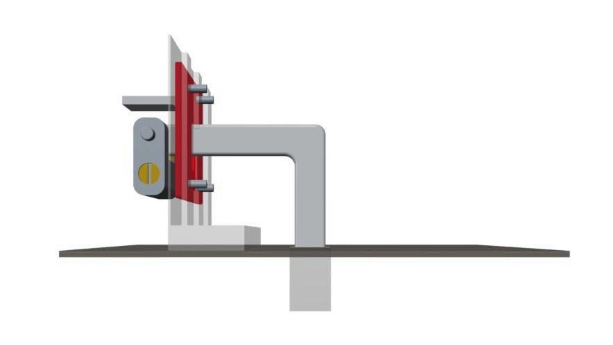Ellelock ha il sistema di ancoraggio al suolo nella parte interna del basculante