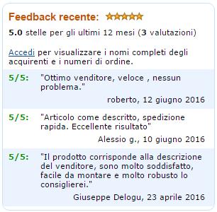 Feedback Clienti Amazon 2